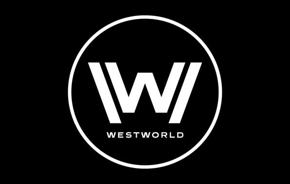 Wallpaper Westworld W wallpaper logo HBO TV series 596x380