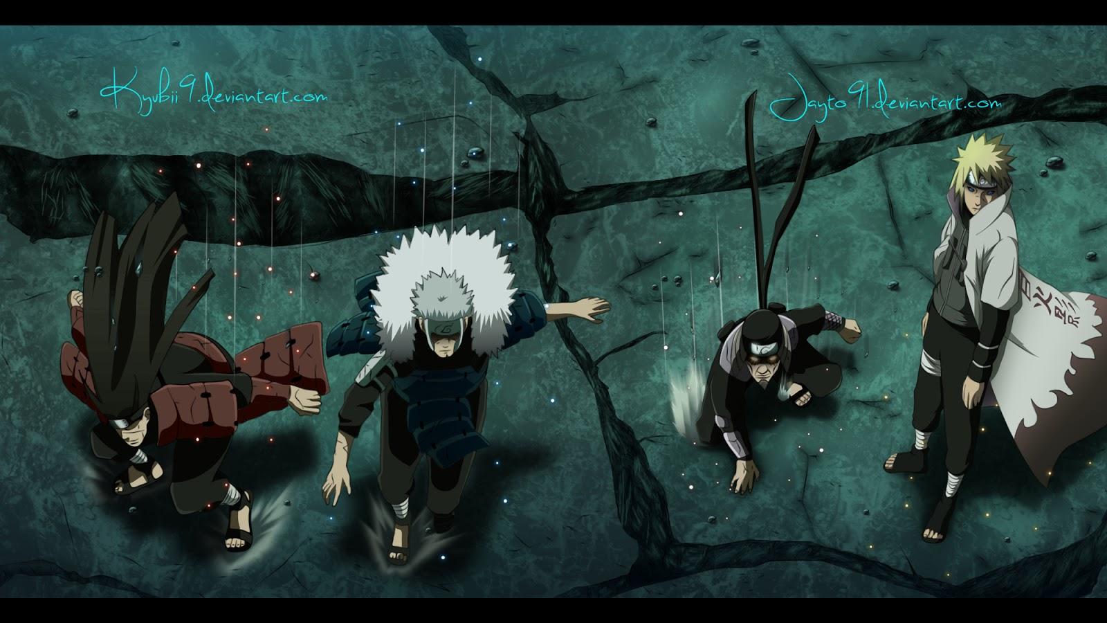 Minato Namikaze Male Deviant Art Anime HD Wallpaper Backgrounds b42 1600x900