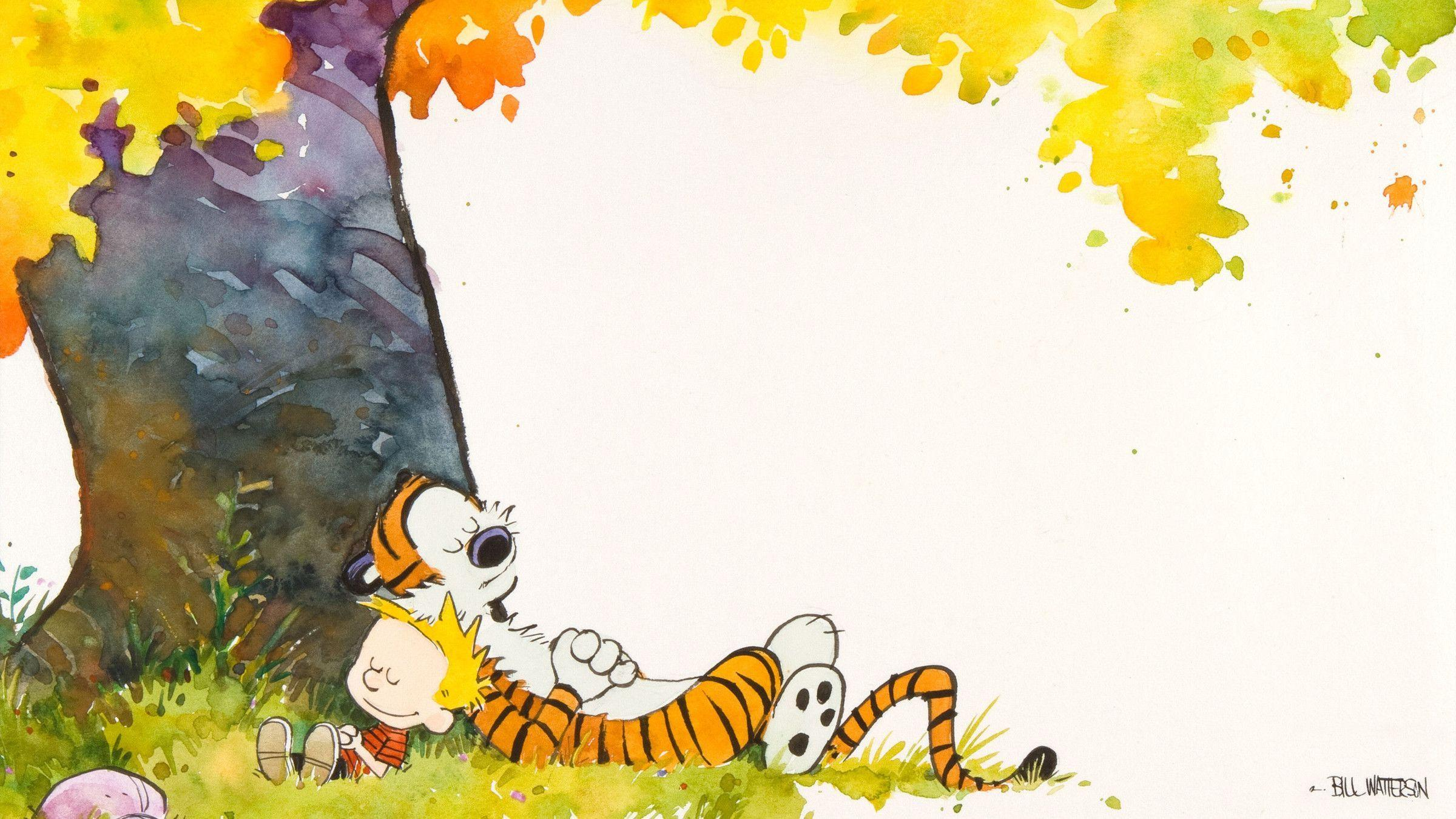 Calvin And Hobbes Wallpapers 2400x1350