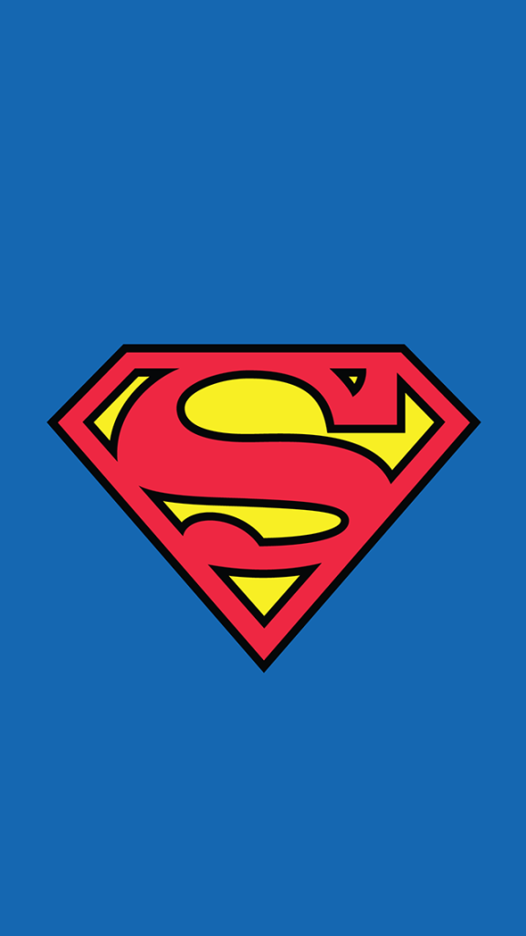 10 Great Minimalist Superhero Wallpapers for your iPhone 576x1024