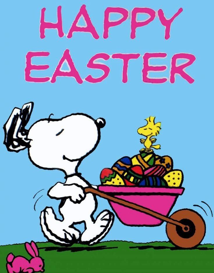 Spring time Snoopy Peanuts Snoopy Charlie brown Easter wallpaper 735x938