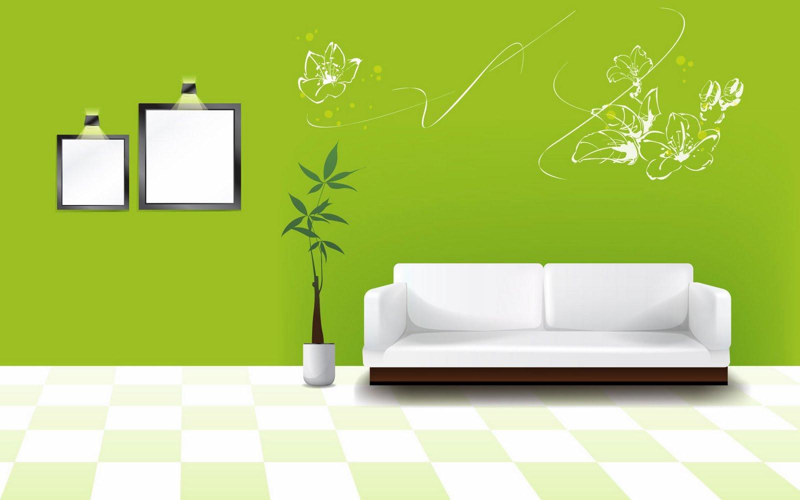 QQ Wallpapers Digital Art Interior Design HD Wallpaper Set 1 1600x1000