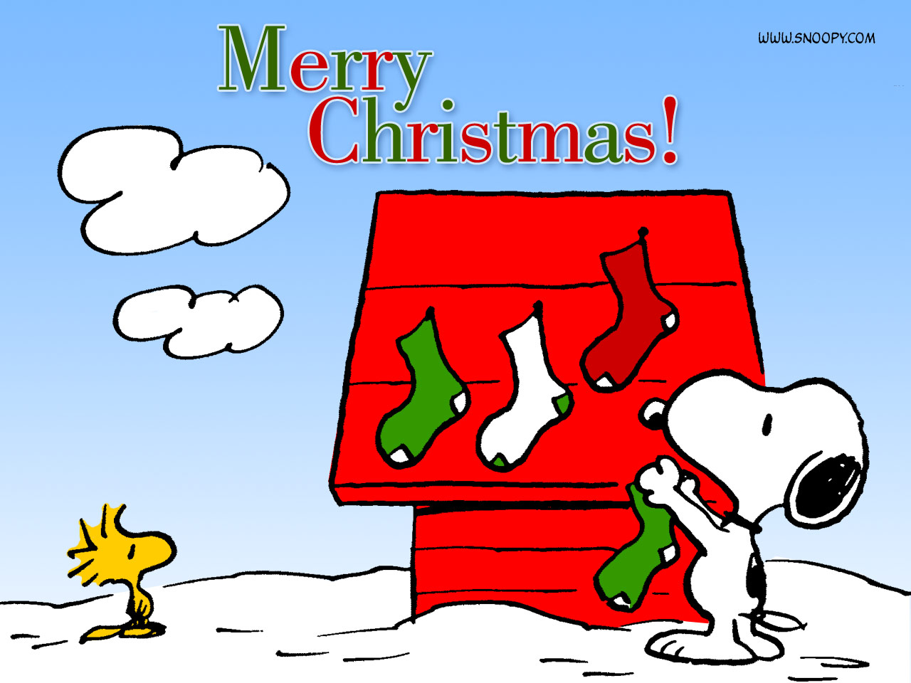 Snoopy Christmas   Peanuts Wallpaper 452770 1280x960