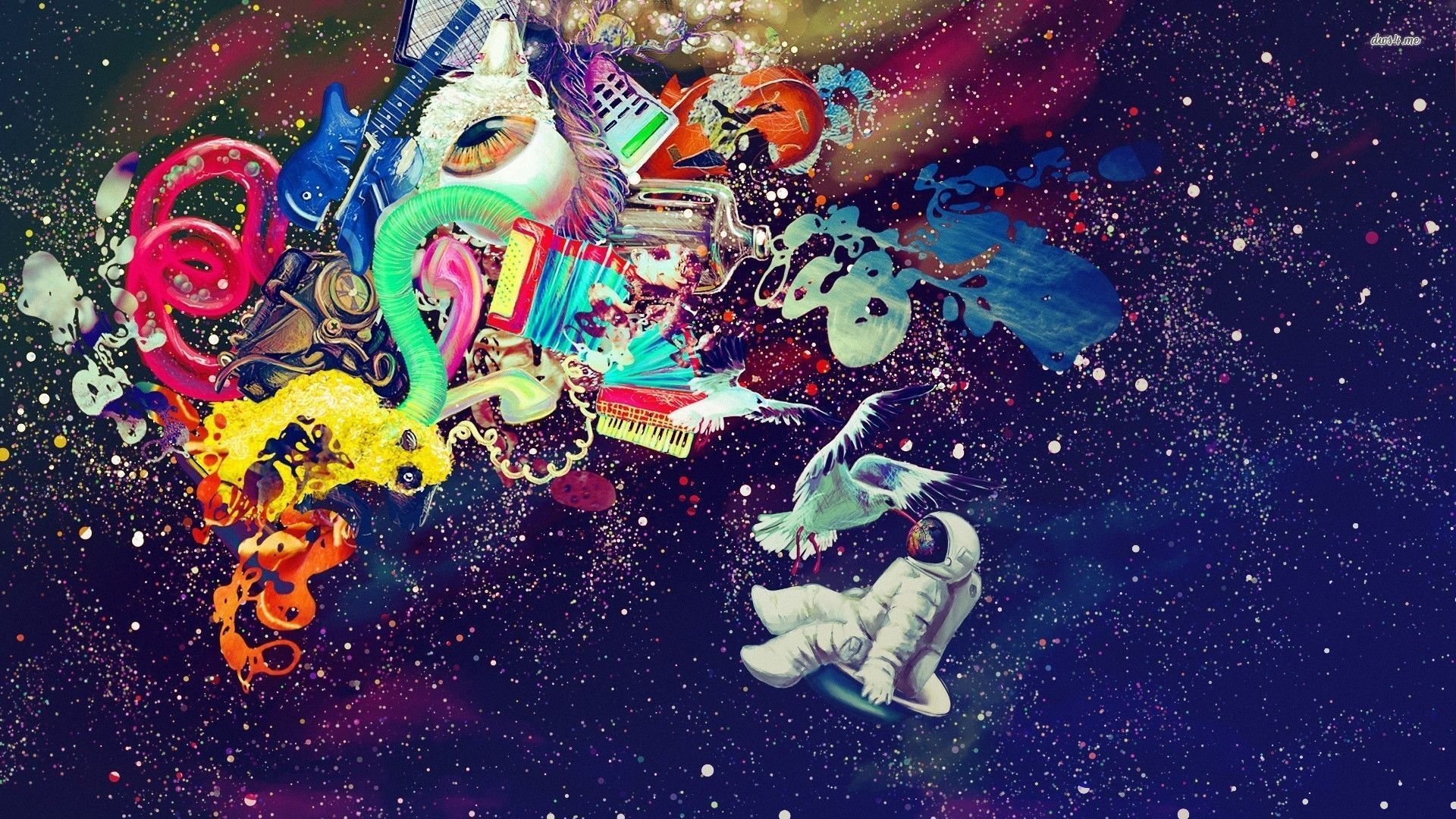 Trippy Space Backgrounds Group 71 1920x1080