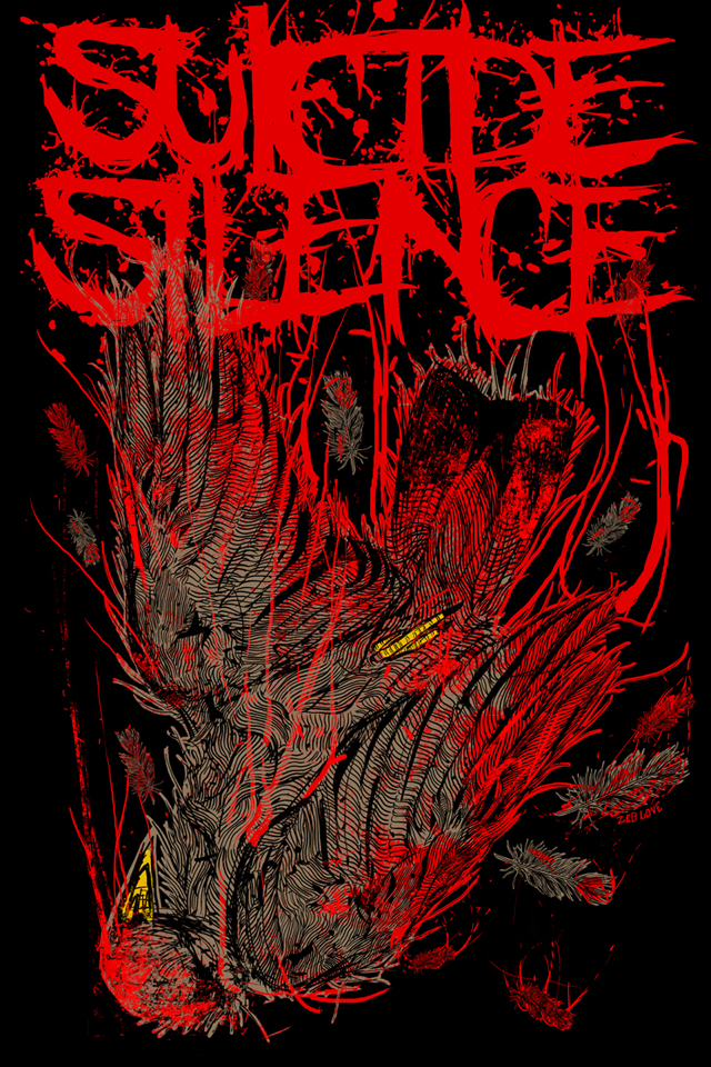 pin wallpapers suicide silence - photo #6