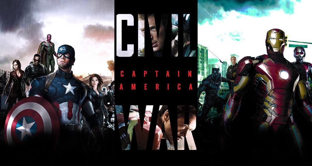 Captain America Civil War   Wallpaper by SuperDude001 1024x547