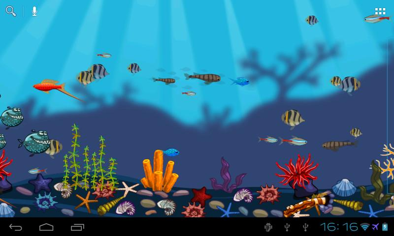 Aquarium Live Wallpaper   Android Apps on Google Play 800x480