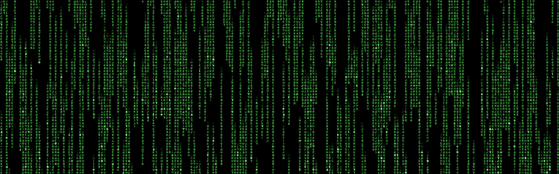 Wallpaper Matrix Code Matrix X 2880x900