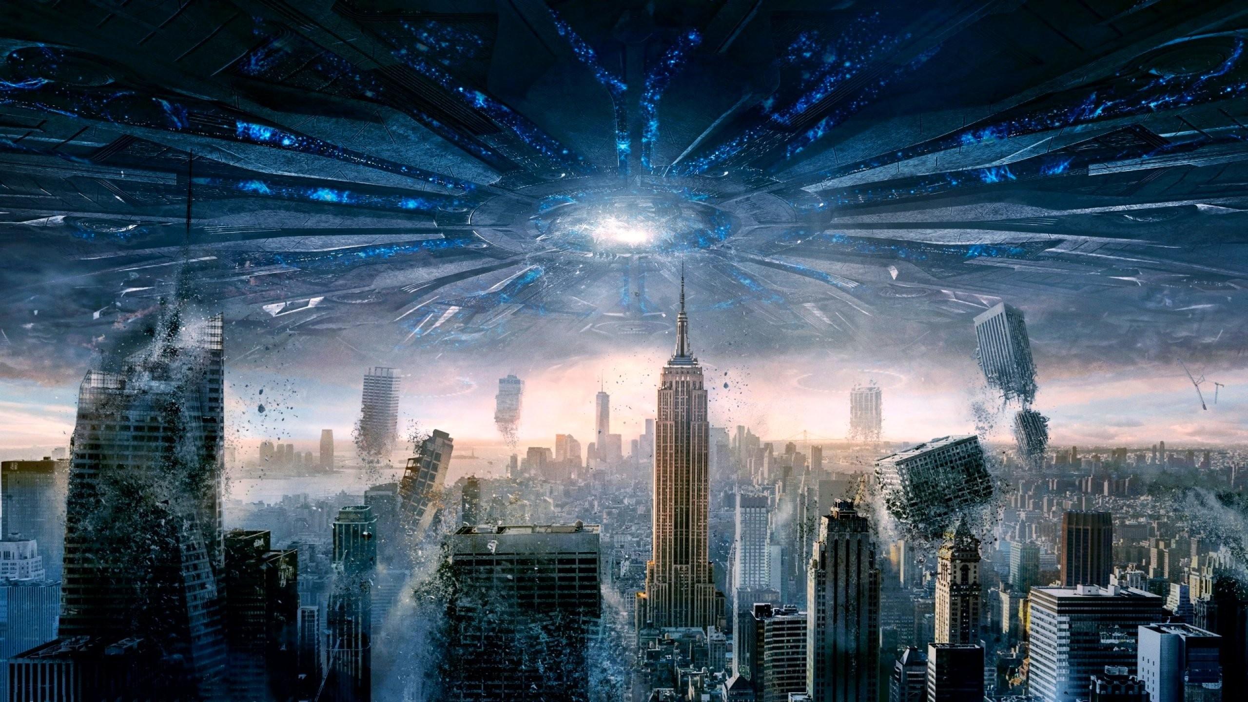 Thriller Fantasy Images Action Adventureindependence Spaceship 2560x1440