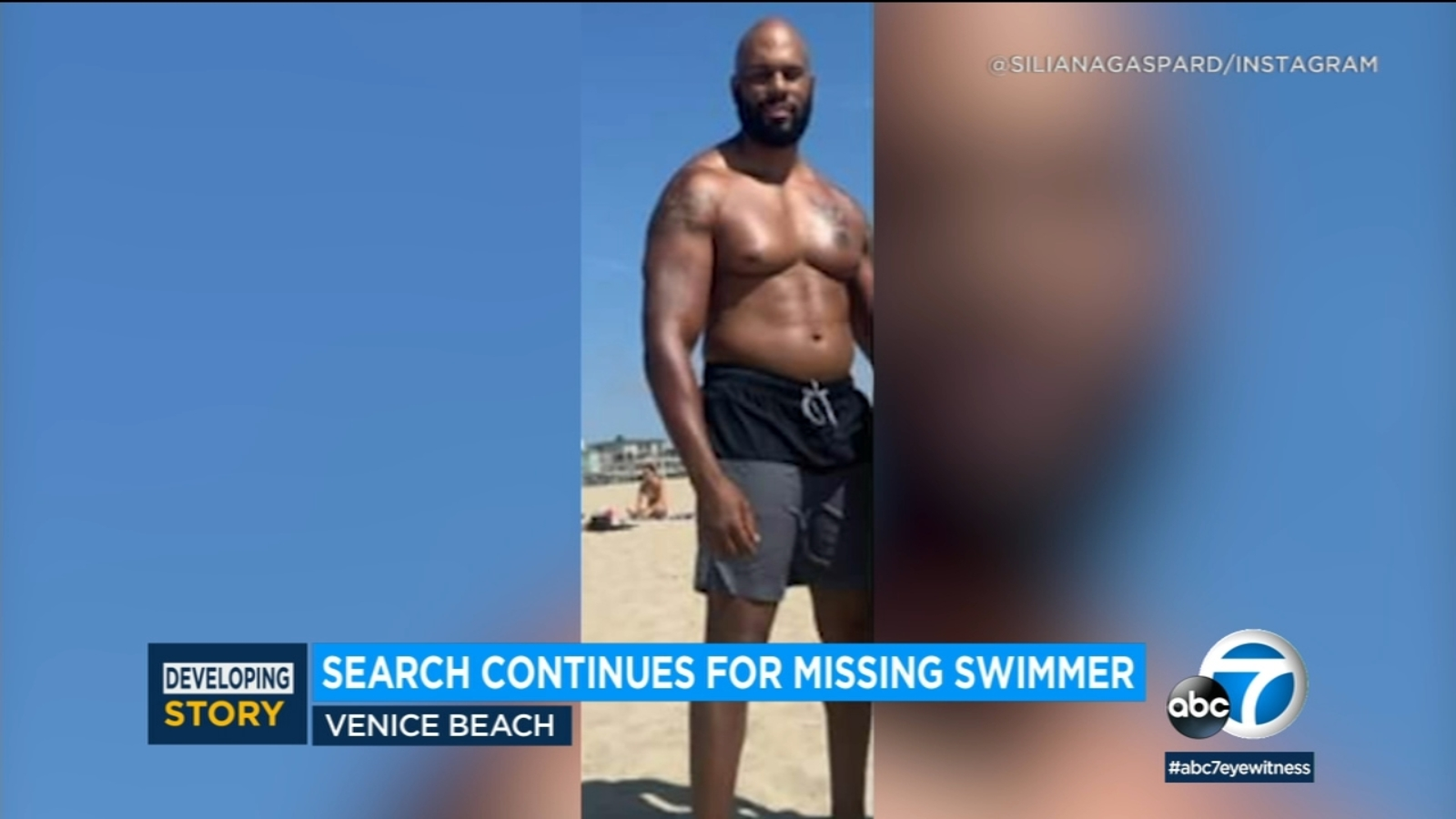 Lifeguards searching for former WWE star Shad Gaspard missing off 1600x900