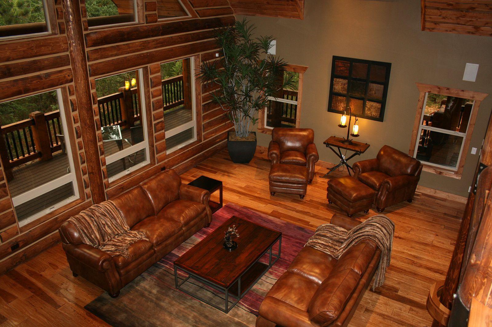 Ranch Style log home plans Lazarus Log Homes 1600x1066