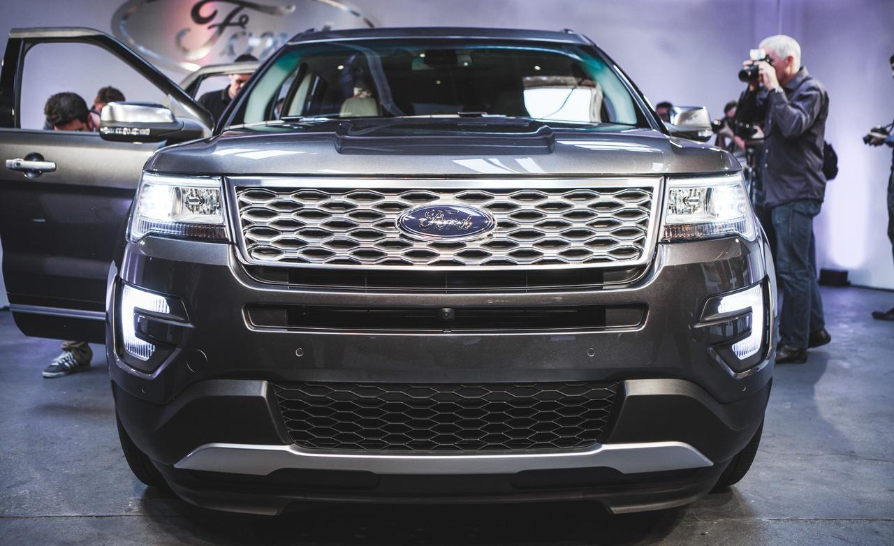 2016 Ford Explorer Platinum 1280x782