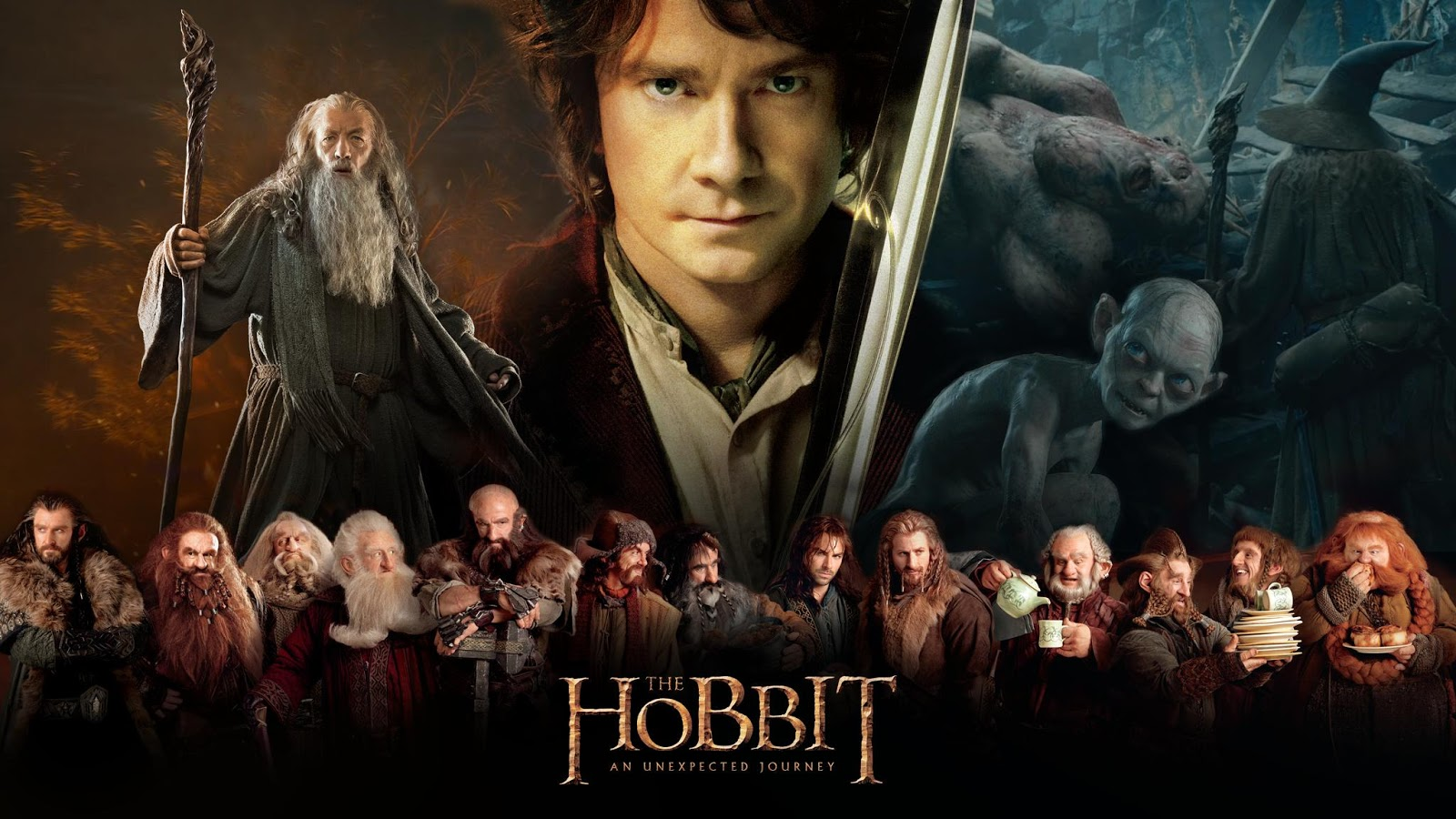 The Hobbit An Unexpected Journey Soundtrack HD Wallpaper 1600x900