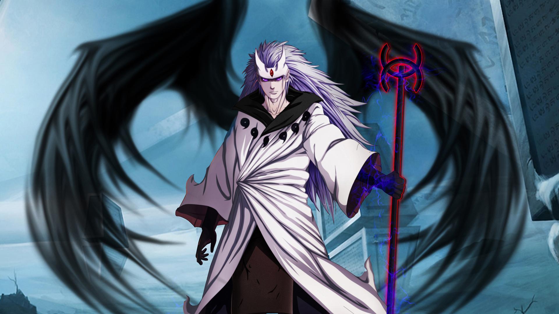 Uchiha Madara jinchuuriki wings anime character HD 1920x1080 1080p 1920x1080