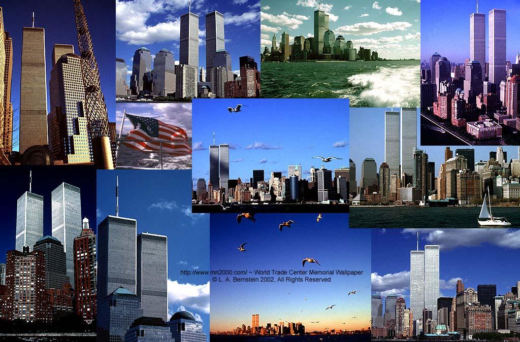 We Remember 9 11 2001   World Trade Center Memorial Screen Background 1024x674