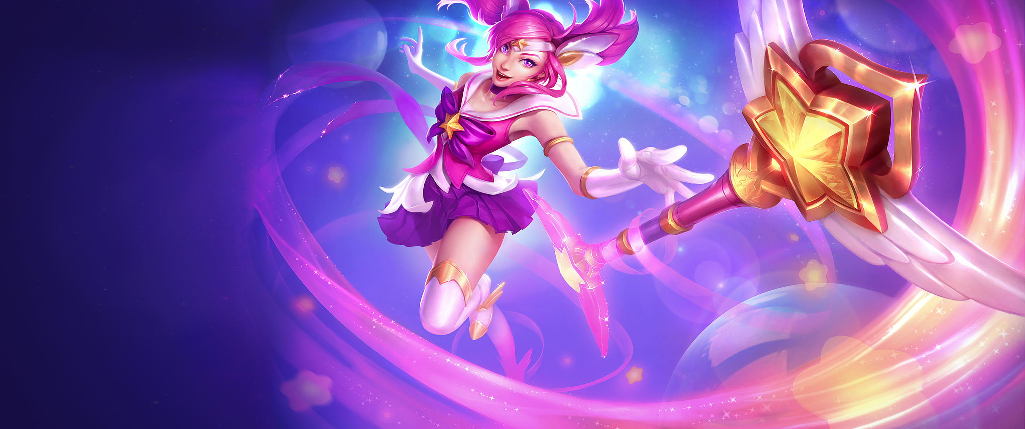86 Lux League Of Legends HD Wallpapers Background Images 3440x1440