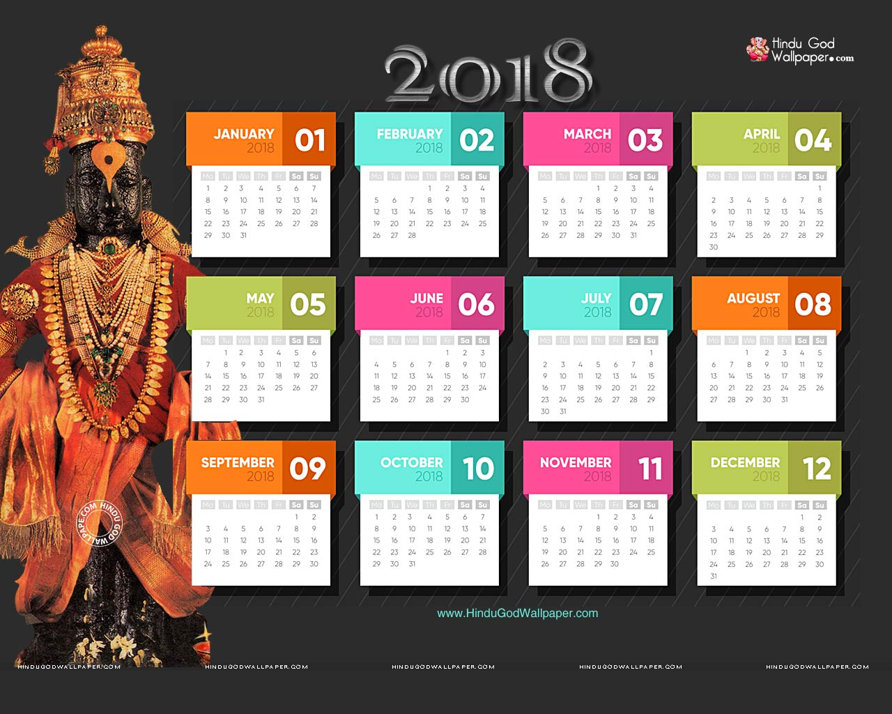 Free Download Calendar 2018 Background Wallpapers For