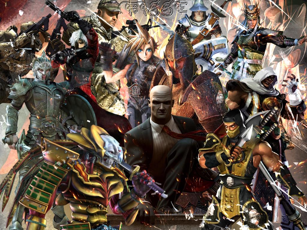 [50+] Video Game Characters Wallpaper on WallpaperSafari
