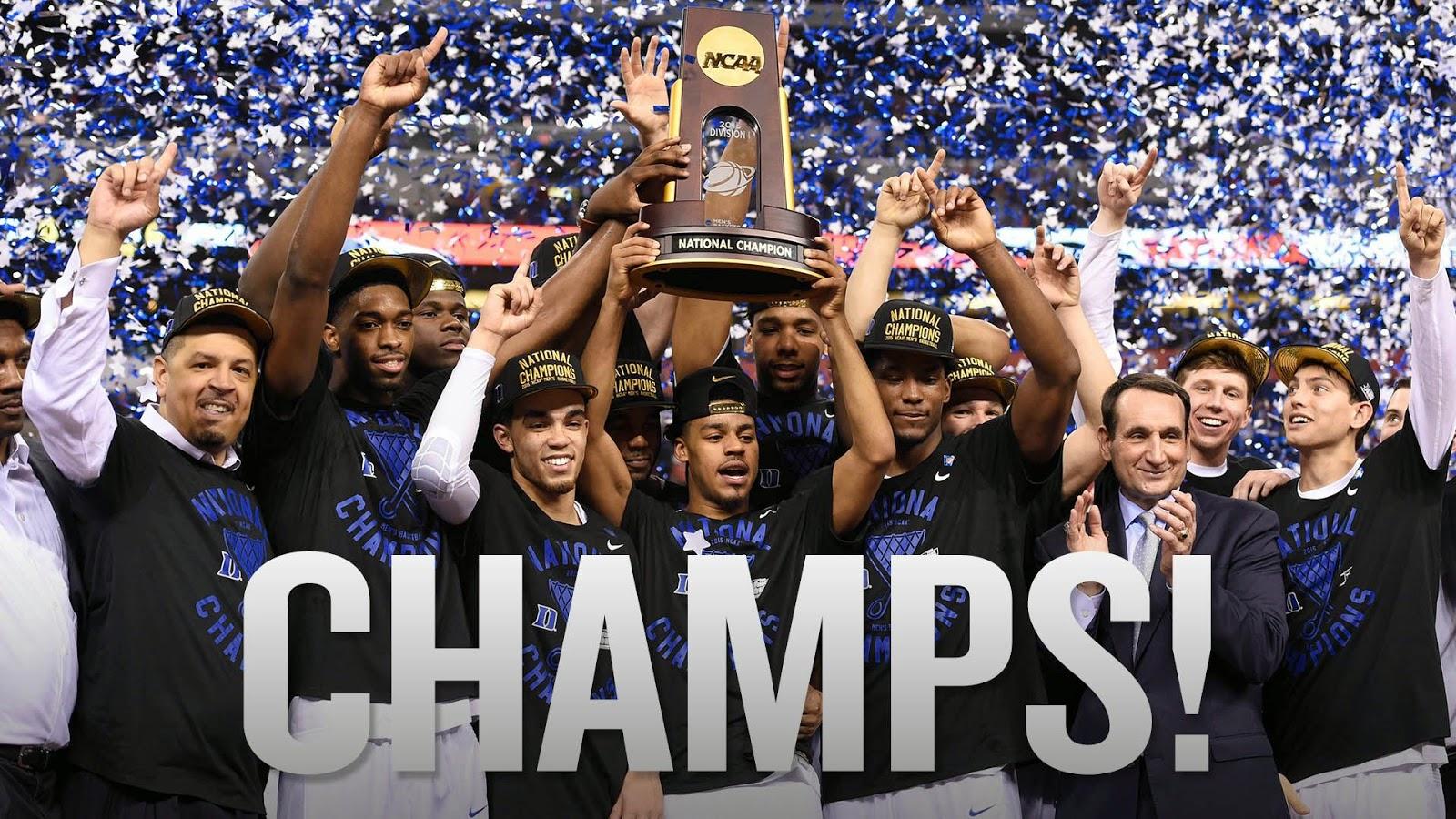 Duke Basketball 2015 Championship Wallpaper - WallpaperSafari