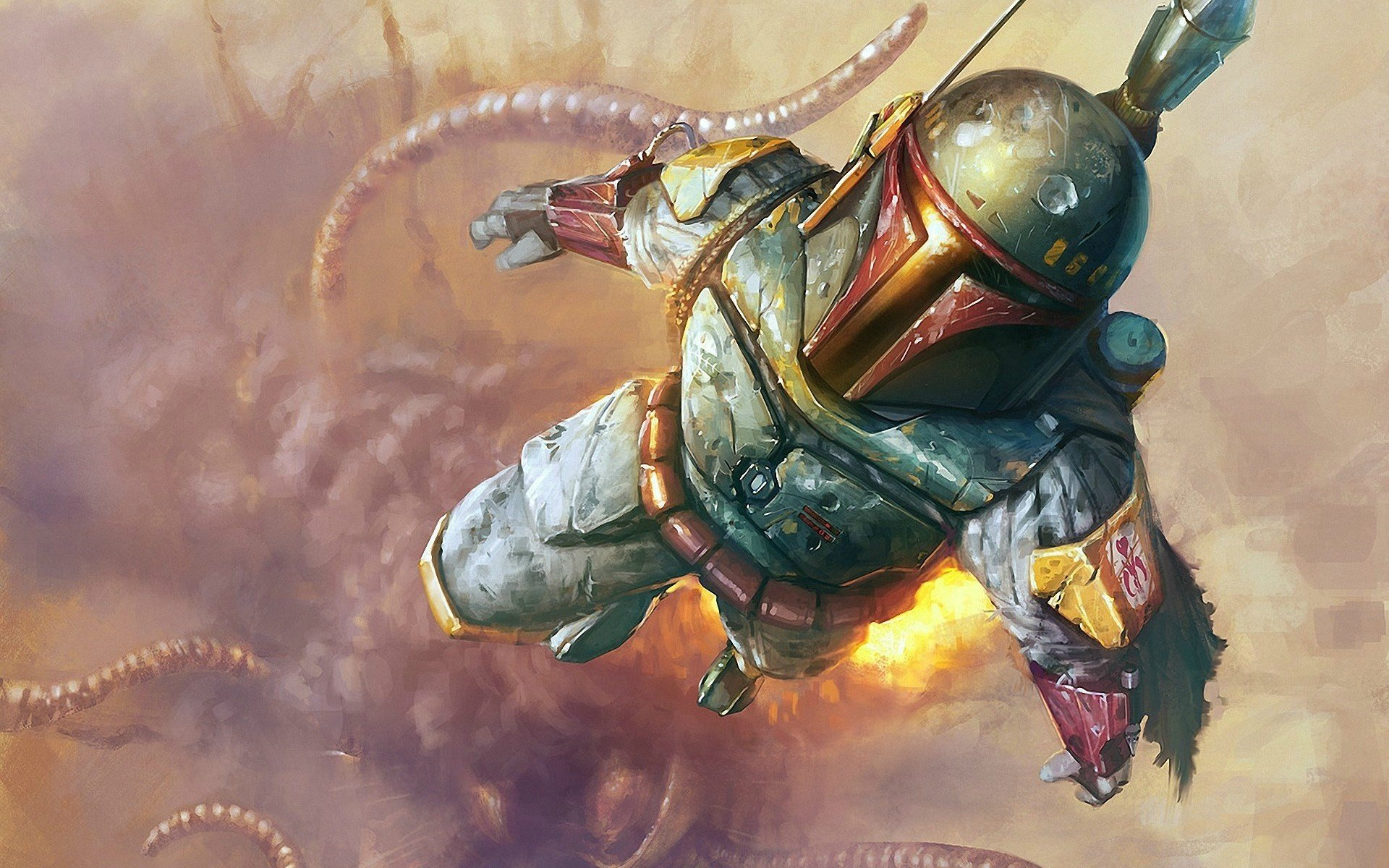 Boba Fett HD Wallpaper Star Wars Artwork Wallpaper Desktop Picture 1920x1200