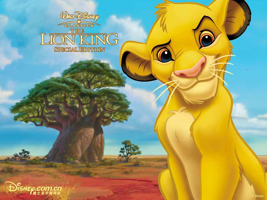 Top Cartoon Wallpapers The Lion King Wallpapers 1024x768