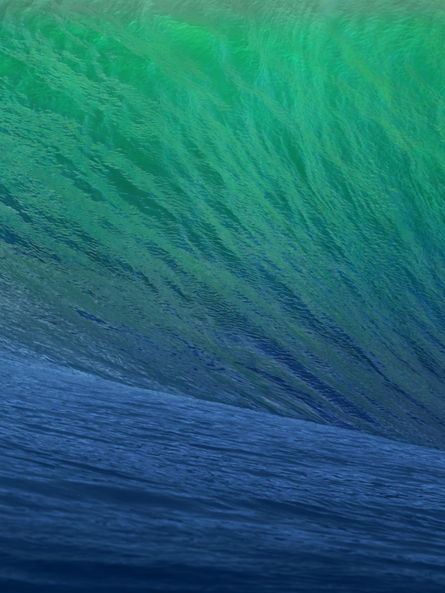 1536x2048 OS X Mavericks Wave Ipad 4 wallpaper 1536x2048