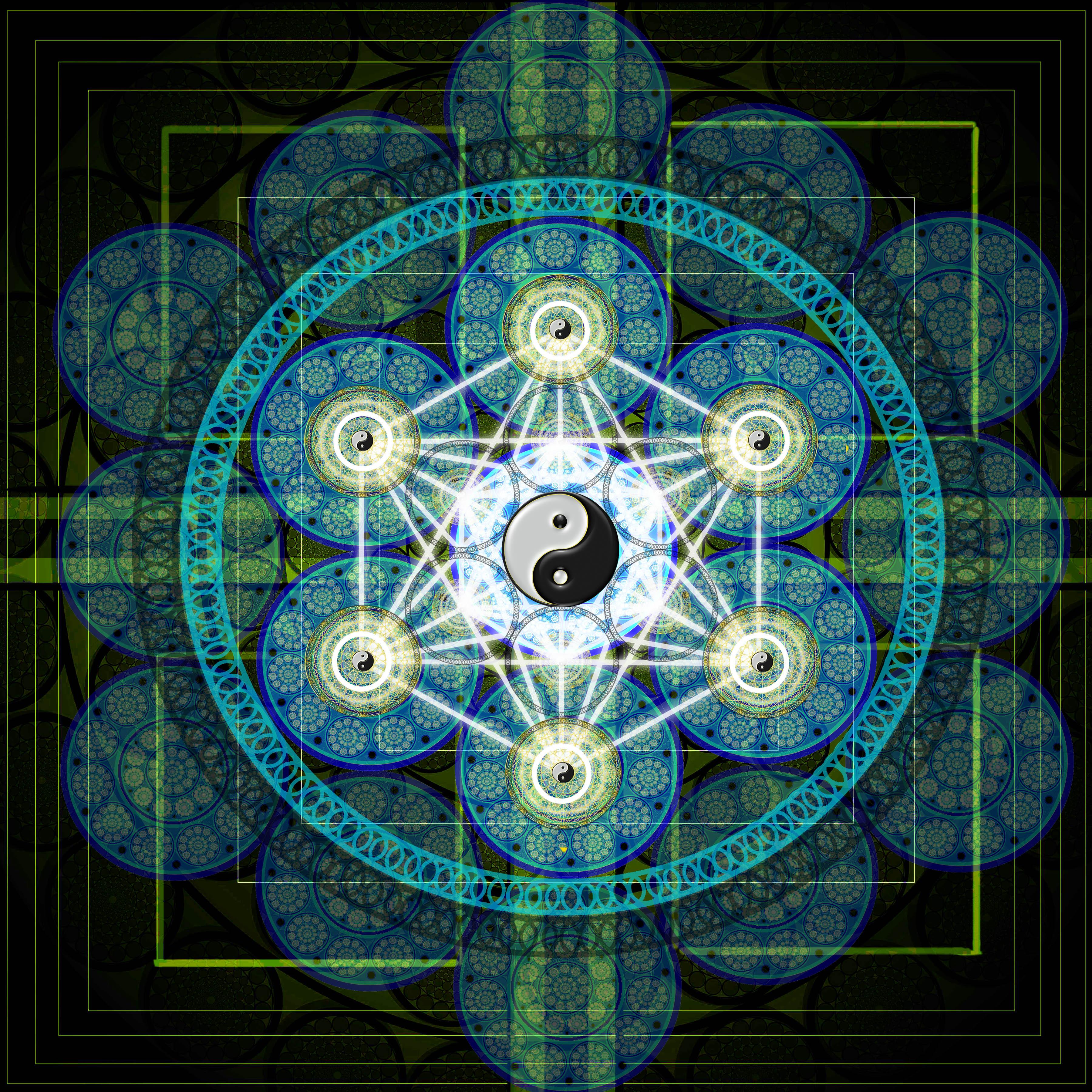 Sacred Geometry Wallpaper HD - WallpaperSafari