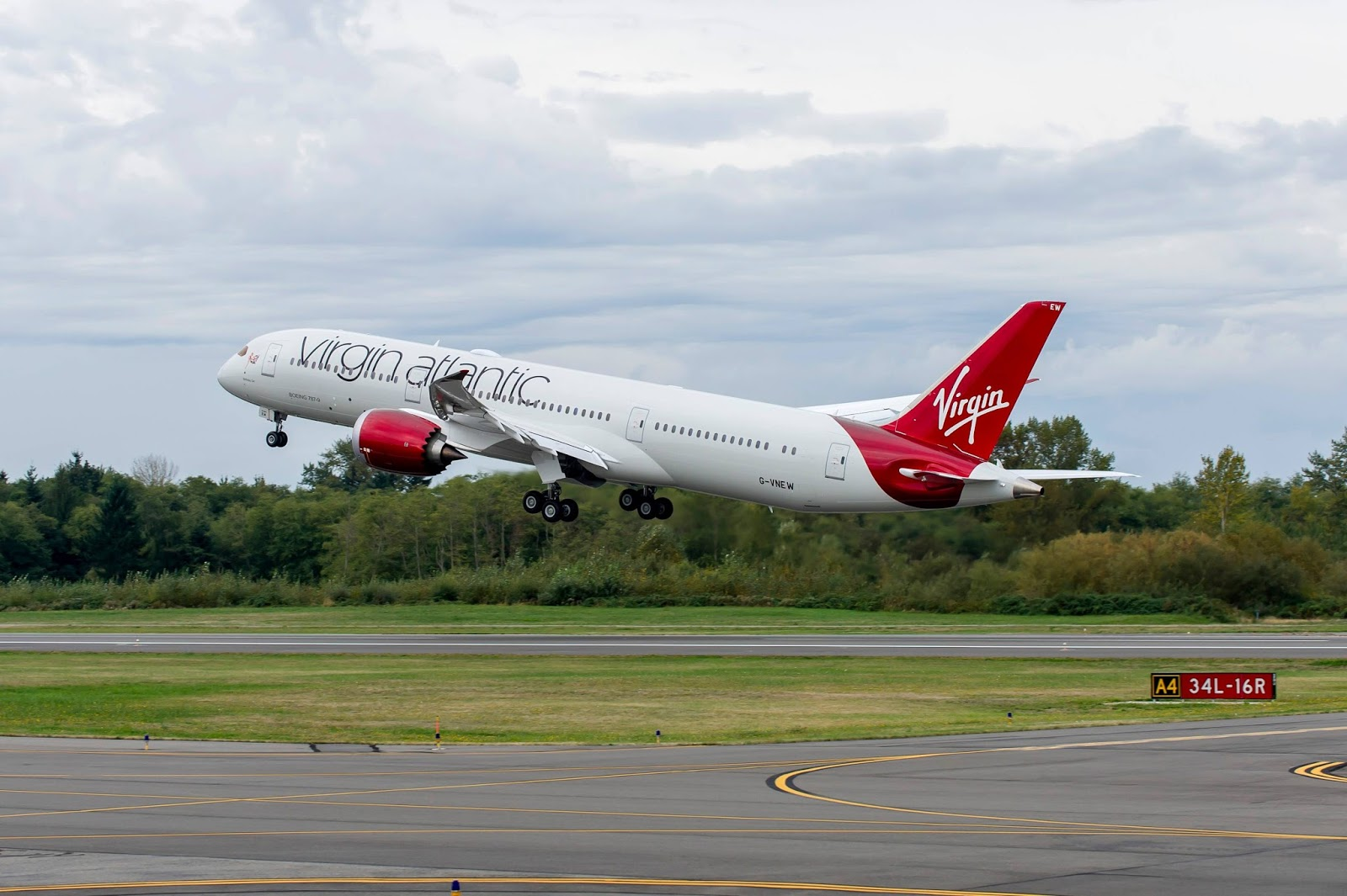Virgin Atlantic Boeing 787 9 Dreamliner Aircraft Wallpaper 3890 1600x1065