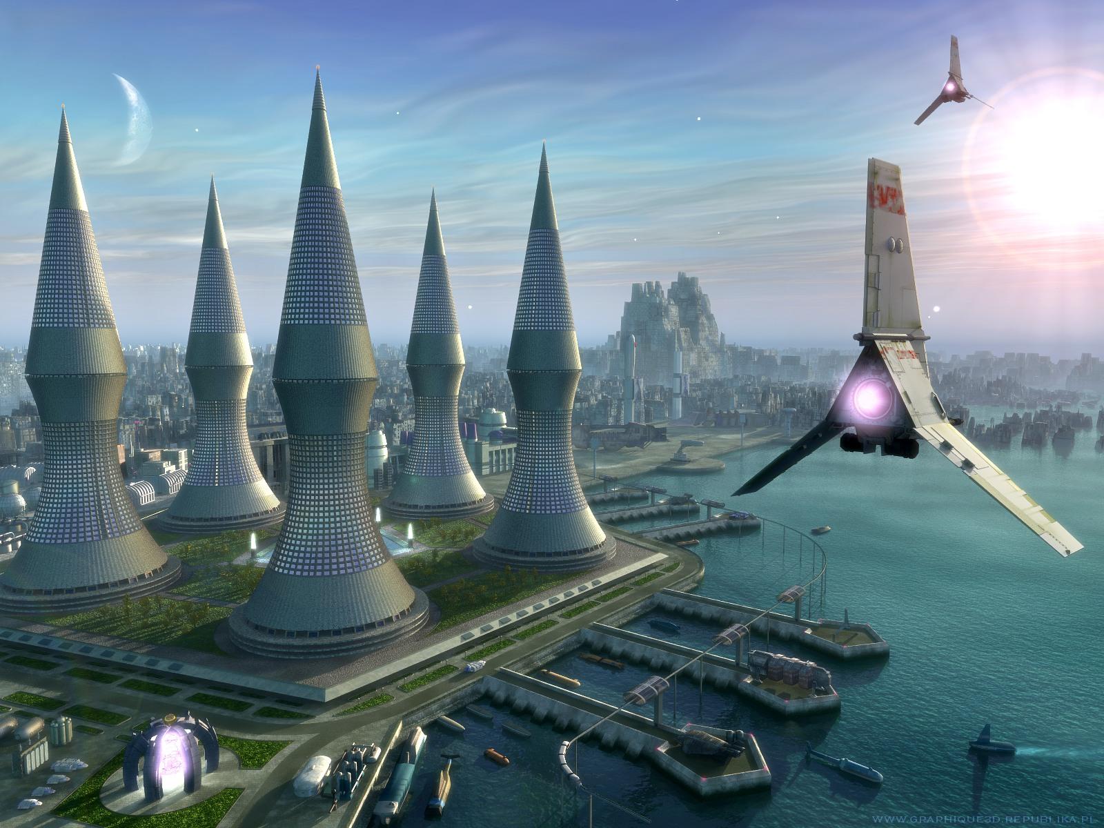 Download Science Fiction wallpaper Science fiction 9 1600x1200