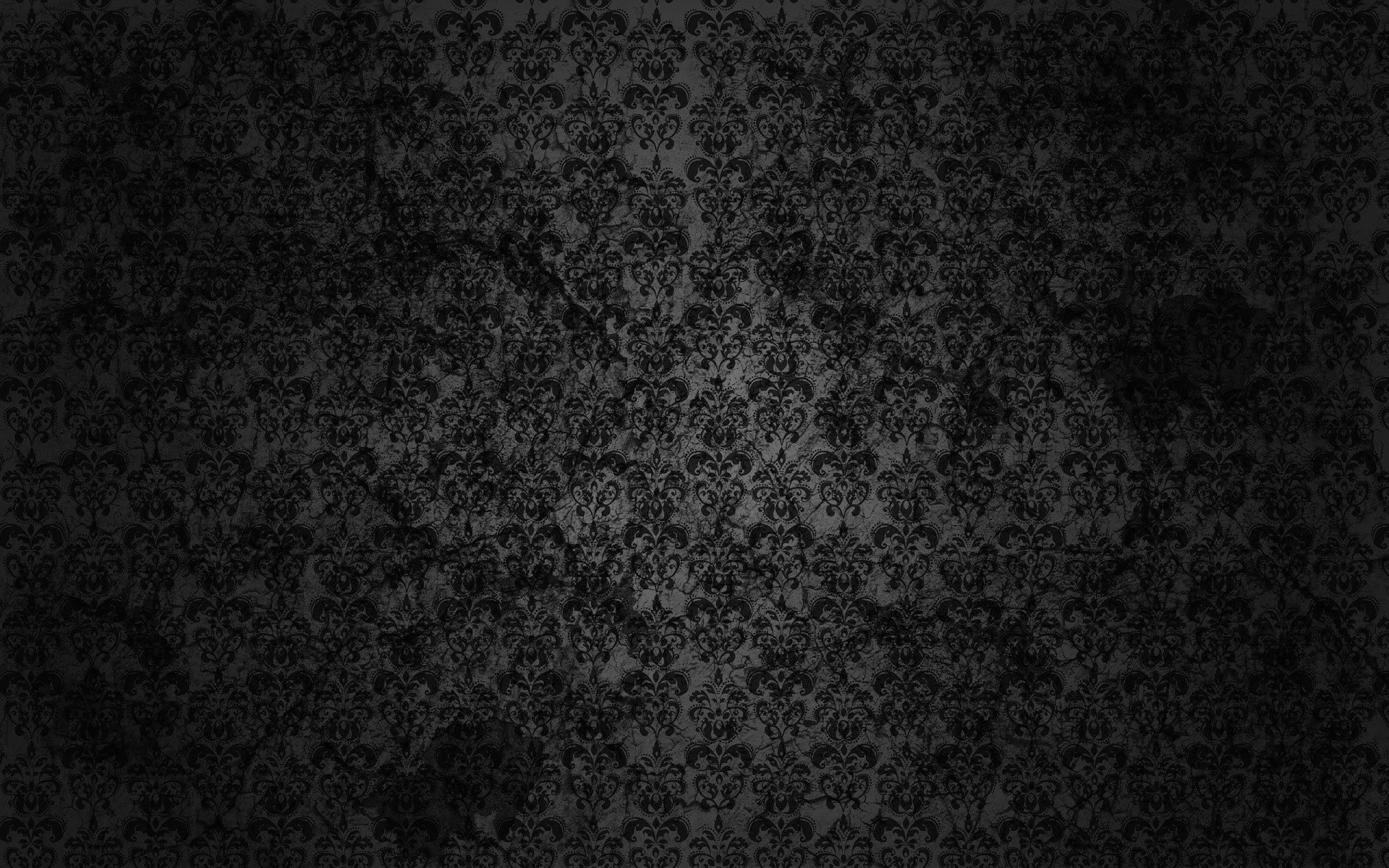 Black Floral Grunge Full HD Desktop Wallpapers 1080p 1920x1200