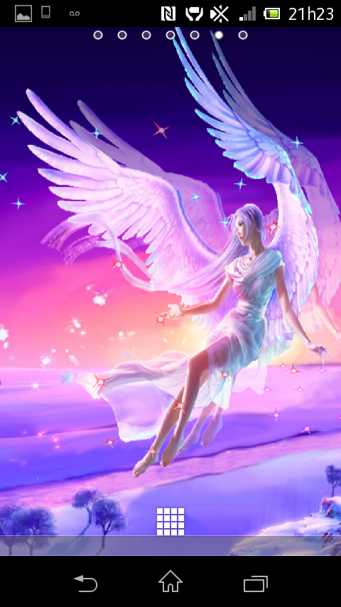 50 live angel wallpaper on wallpapersafari - Fairy wallpaper for android ...