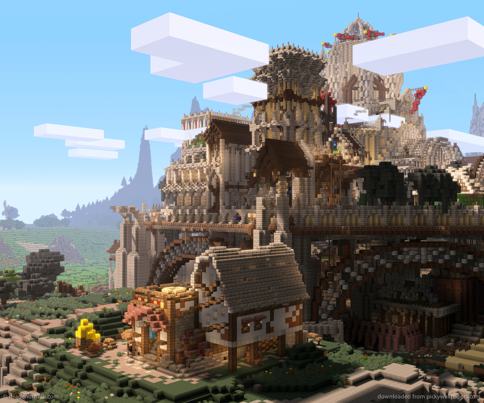 Epic Minecraft Backgrounds Link to this wallpaper 960x800