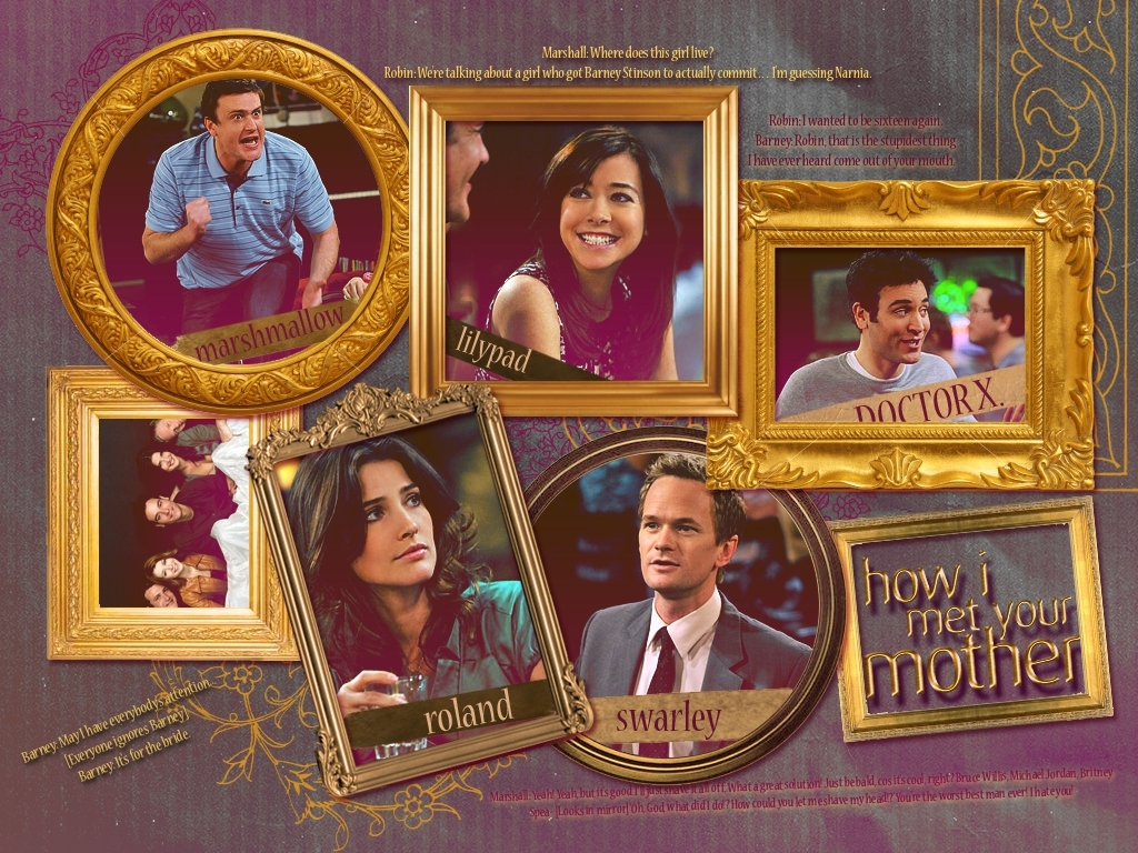 How I Met Your Mother Goledn HIMYM 1024x768