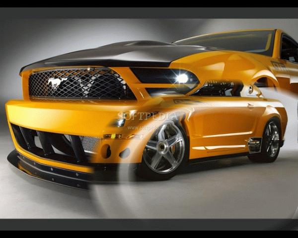 Ford Mustang Screensaver   screenshot 1 600x480