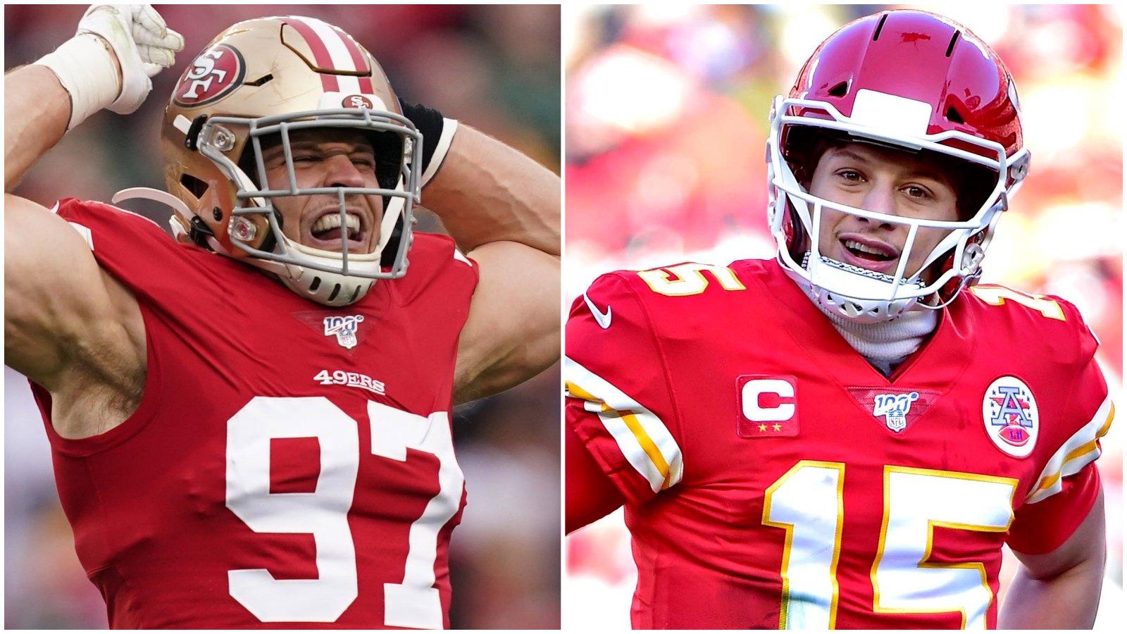 Chiefs Open As Slight Super Bowl 2020 Favorite over 49ers 1600x900