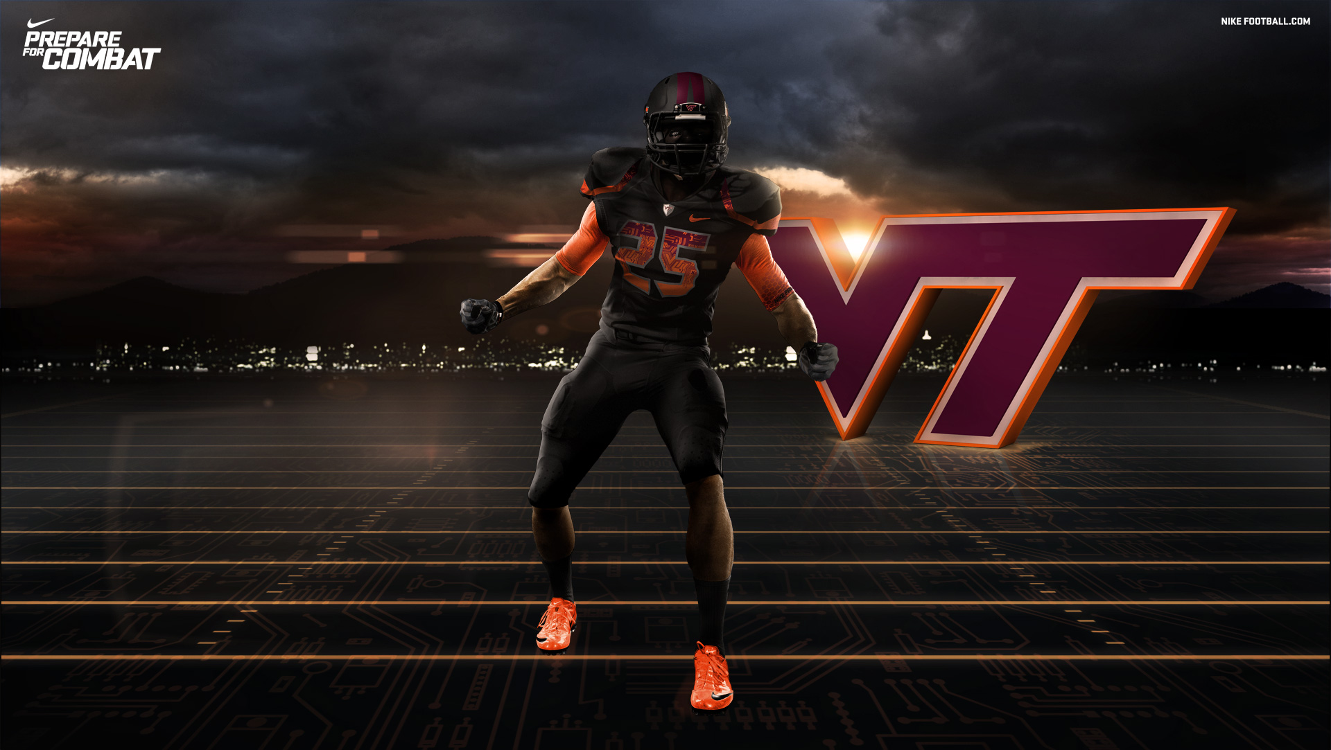 American Football Wallpapers Maker Pro: Virginia Tech Wallpapers