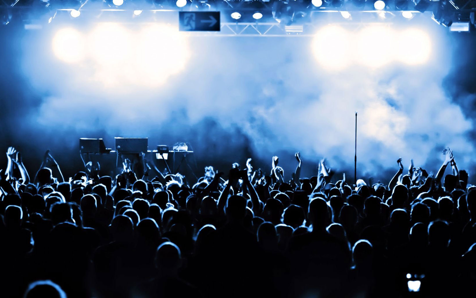 The Rock Band Concert Crowds Tablet Phone Wallpaper Background   Album 1638x1024