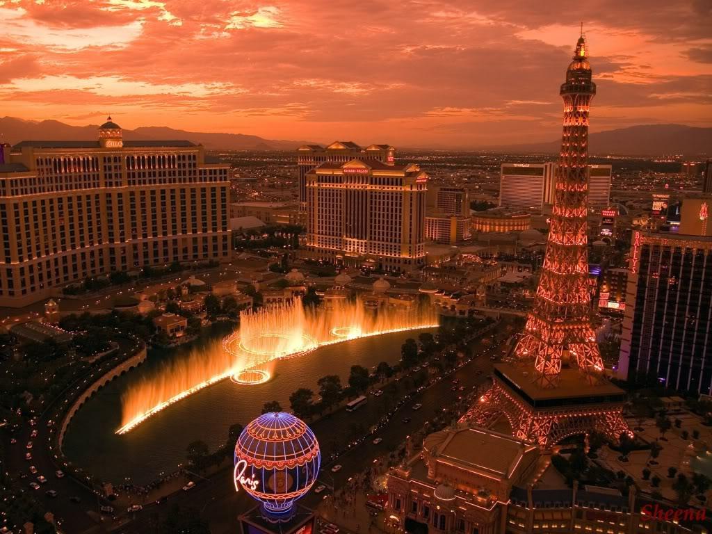 Las Vegas Wallpaper Background Theme Desktop 1024x768