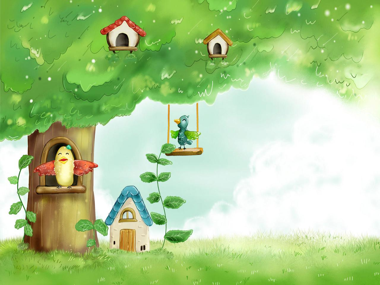 download Cute Spring Backgrounds wallpaper wallpaper hd 1280x960