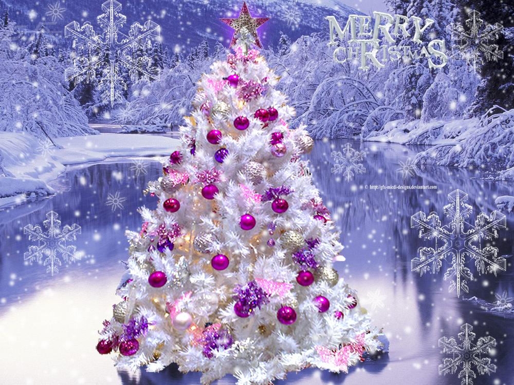 Winter And Christmas Wallpaper  WallpaperSafari