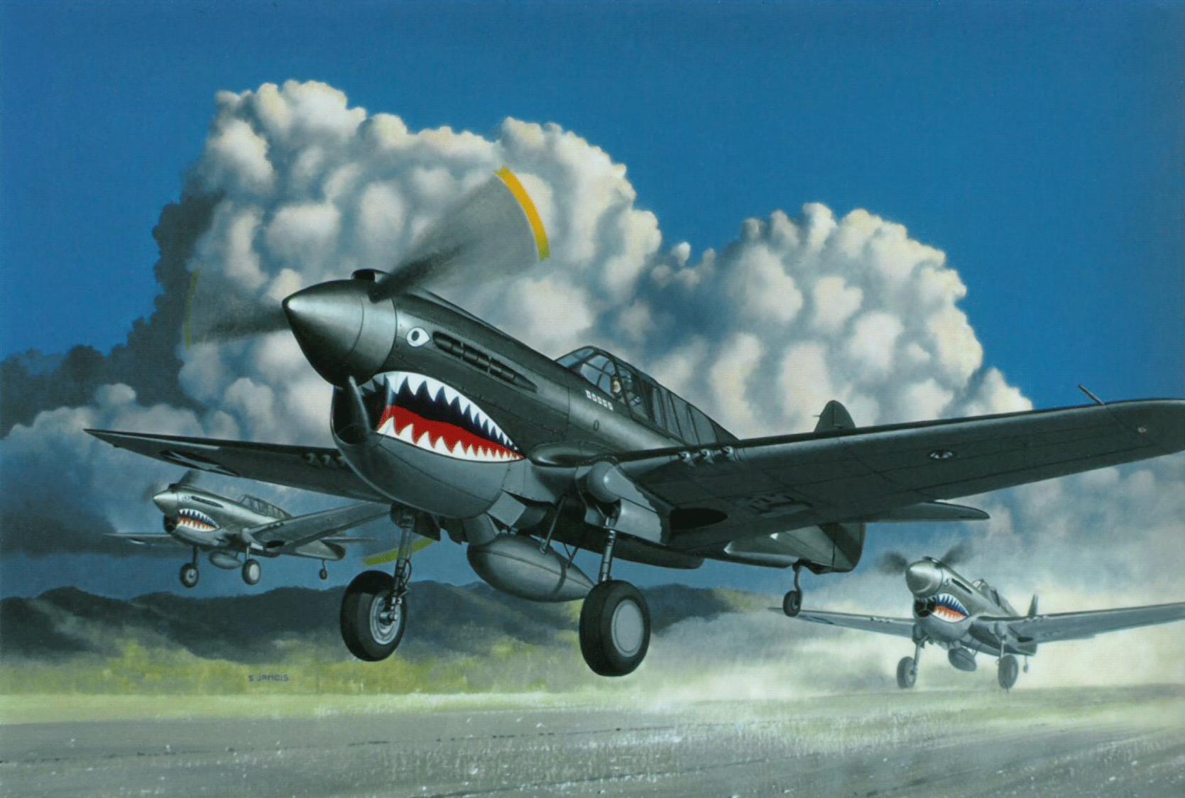 P40 Warhawk Wallpaper