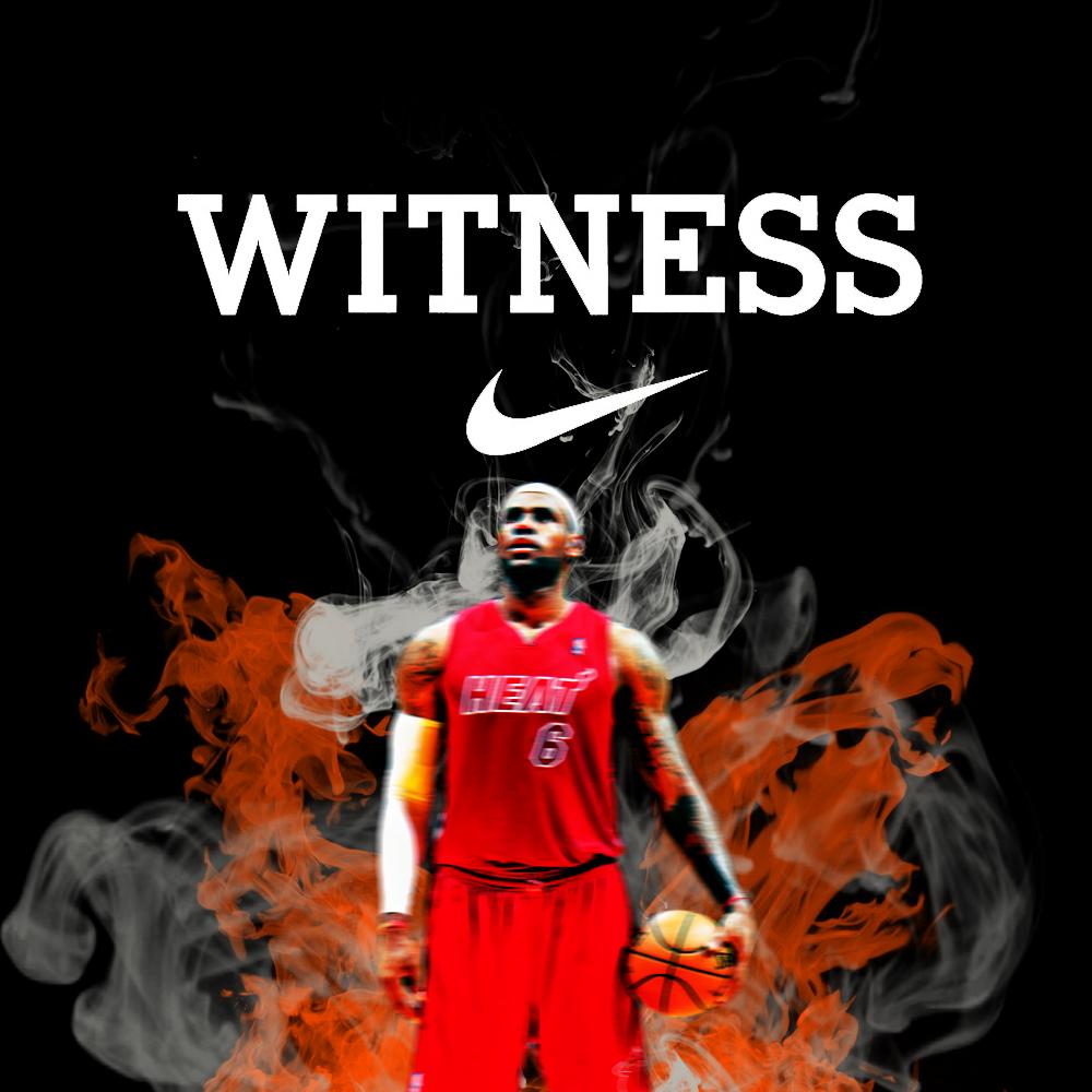 Lebron Witness by tyverch 1000x1000