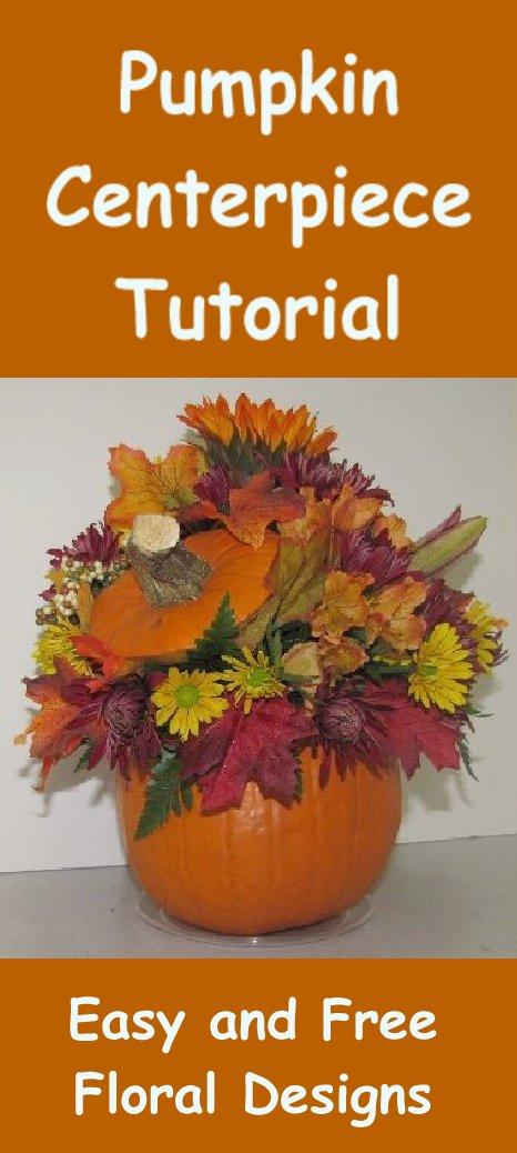 fall pumpkin wedding centerpieces 466x1038