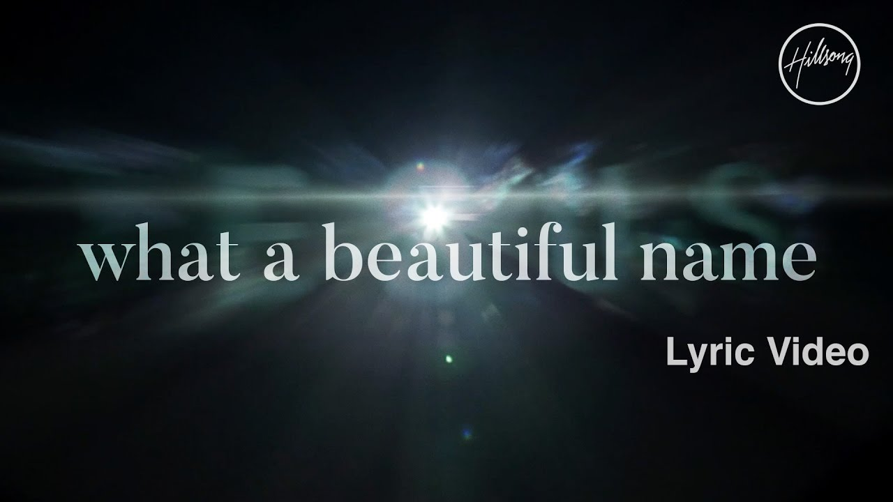 What A Beautiful Name Lyric Video   Hillsong Worship 1280x720