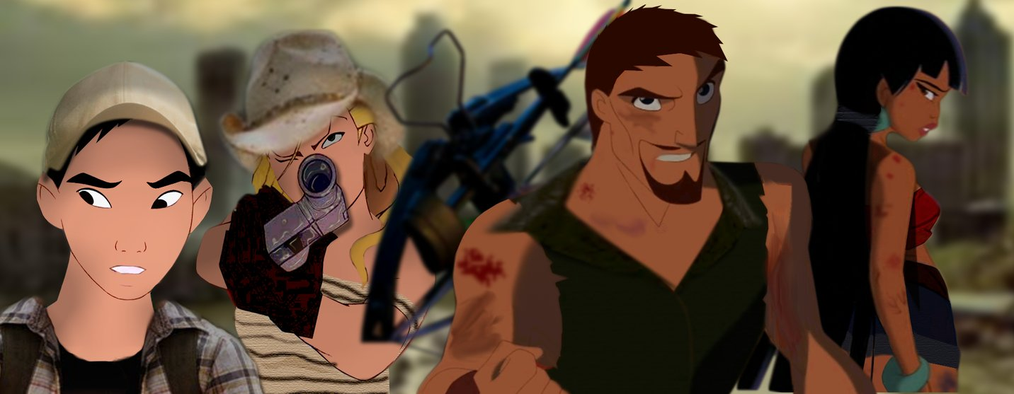 Free Download Unfinished The Walking Dead Animated By
