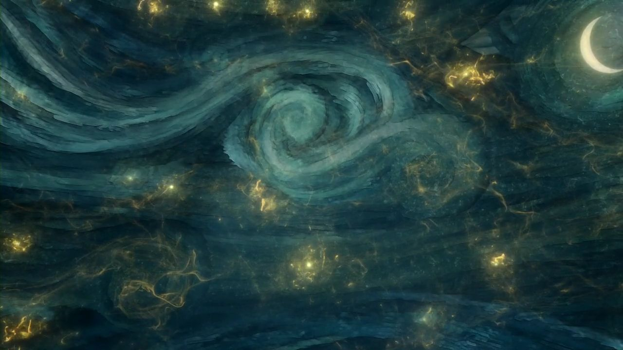 Doctor Who Wallpaper Tardis Van Gogh This is doctor who graphics 1280x720