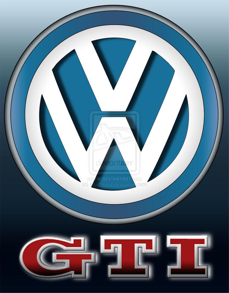 Volkswagen Gti Logo Wallpaper Vw gti logo by kosikatibi 791x1010