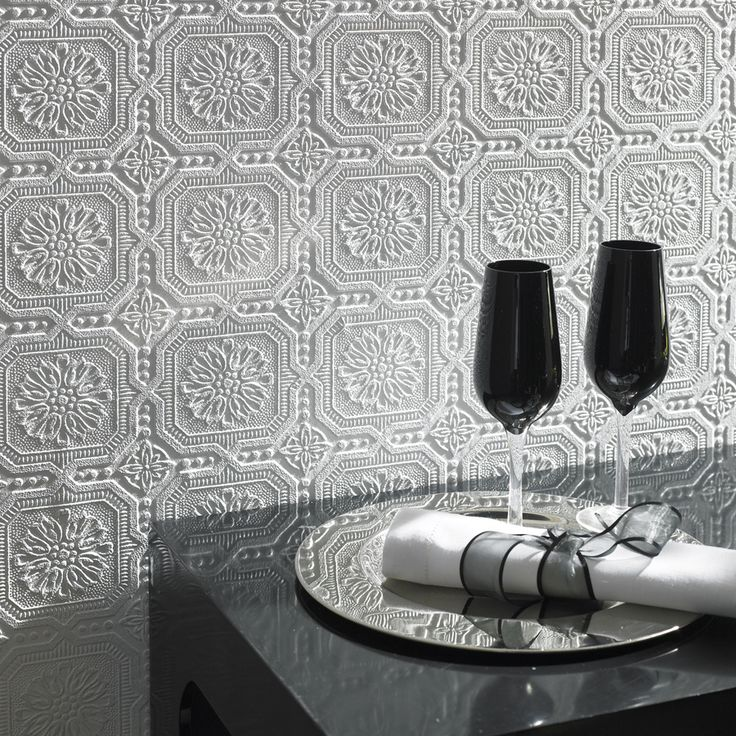 Allen Roth Paintable Ceiling Tiles Wallpaper At Lowescom 736x736