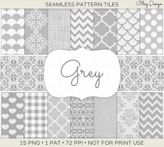 Phillip Jeffries Simply Seamless Wallpaper: Grey Moroccan Wallpaper
