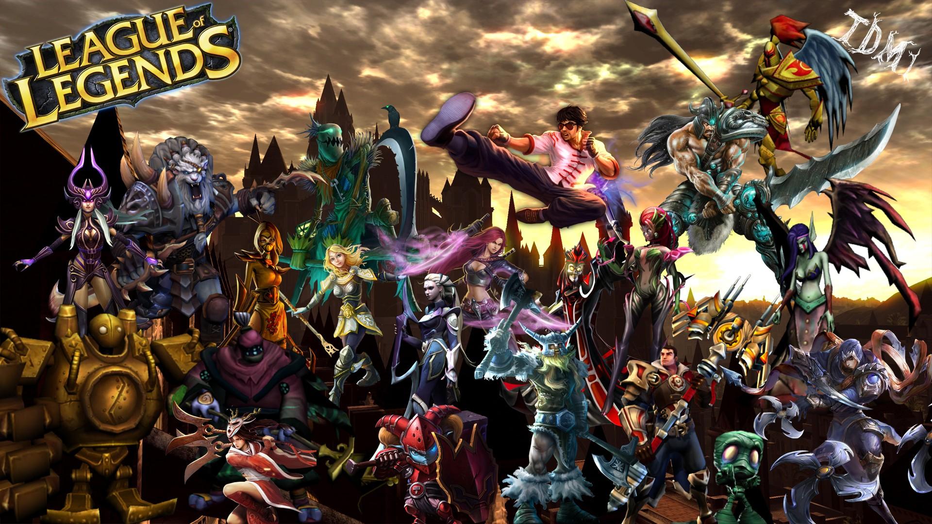 ... Wallpapers, League of Legends Chmpions Desktop Wallpapers, League of